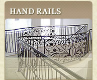 Wrought Iron Hand Rails